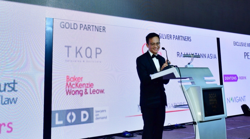 SCCA Annual Black Tie 2017- Excerpt of Welcome Address by Wong Taur-Jiun, President, SCCA