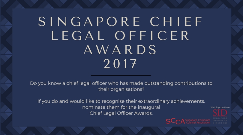 Inaugural Chief Legal Officer Awards 2017