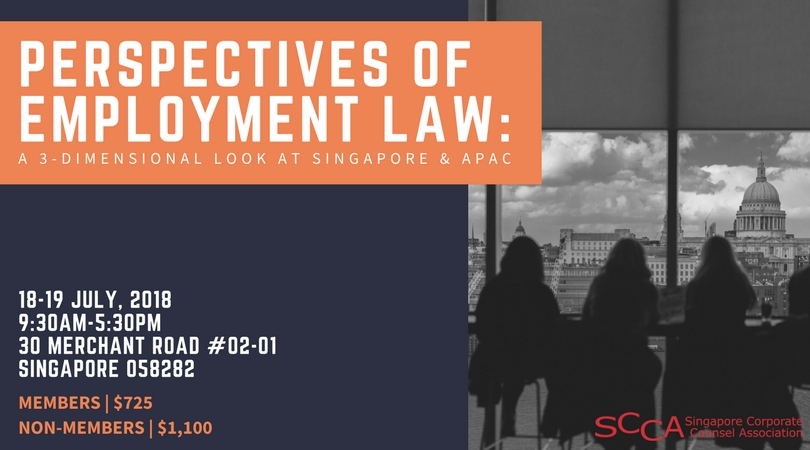 Perspectives of Employment Law: A 3-Dimensional Look at Singapore & APAC