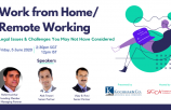INDIA WEBINAR: Work from Home / Remote Working - Legal Issues & Challenges You May Not Have Considered
