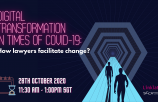 Digital Transformation in times of COVID-19: How Lawyers facilitate change?