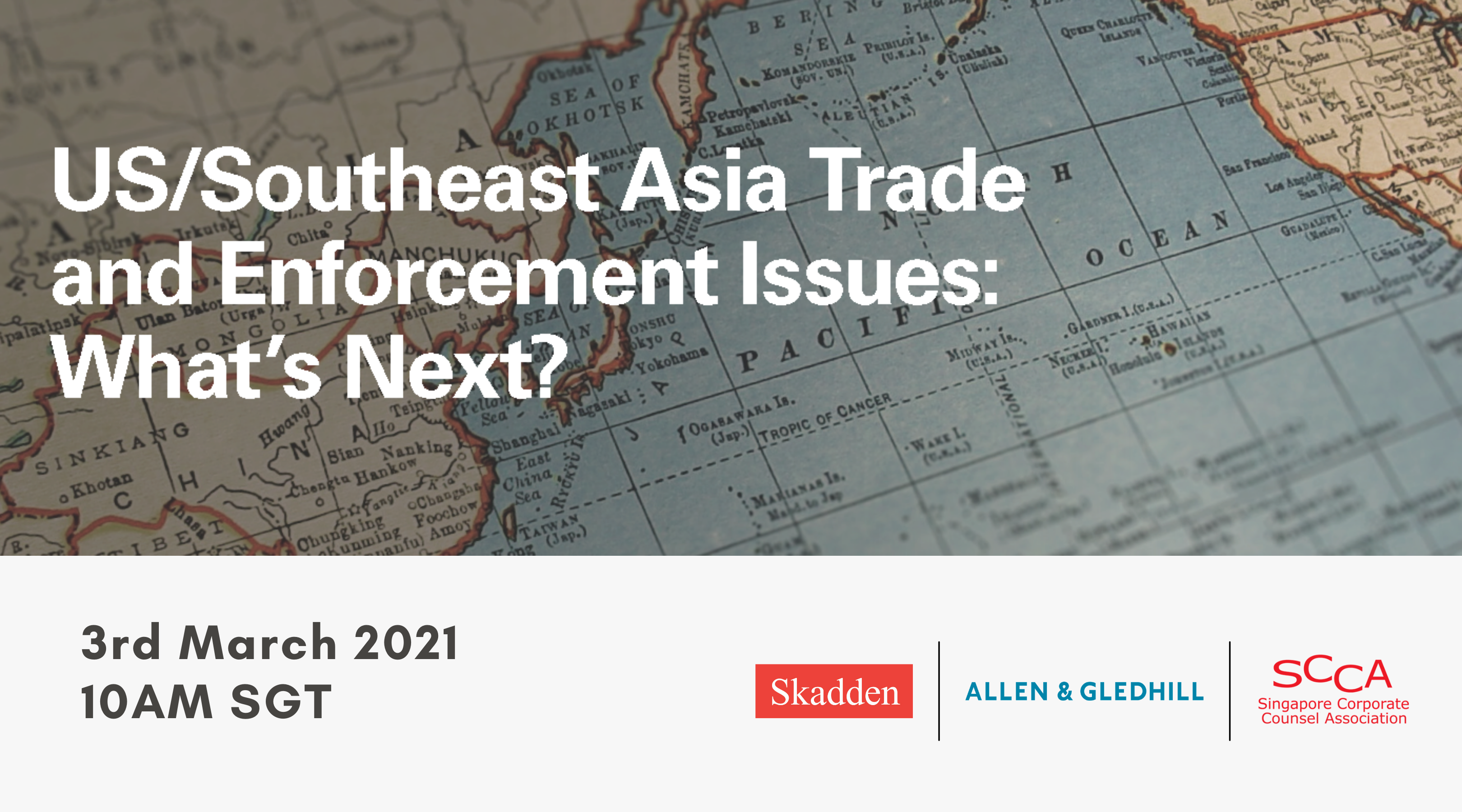US/Southeast Asia Trade and Enforcement Issues: What's Next?
