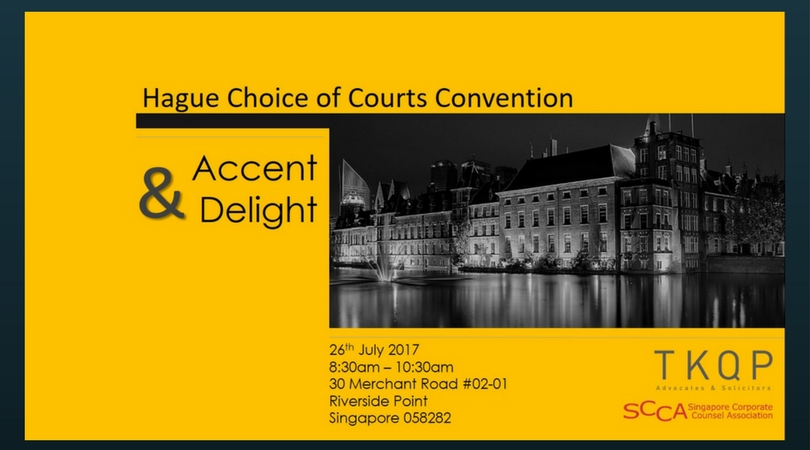 Hague Choice of Courts Convention and Accent Delight