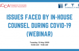 WEBINAR : Issues faced by In-house Counsel during COVID-19