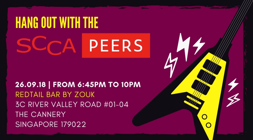 HANG OUT WITH THE SCCA PEERS