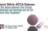 Joint SIArb-SCCA Debate: