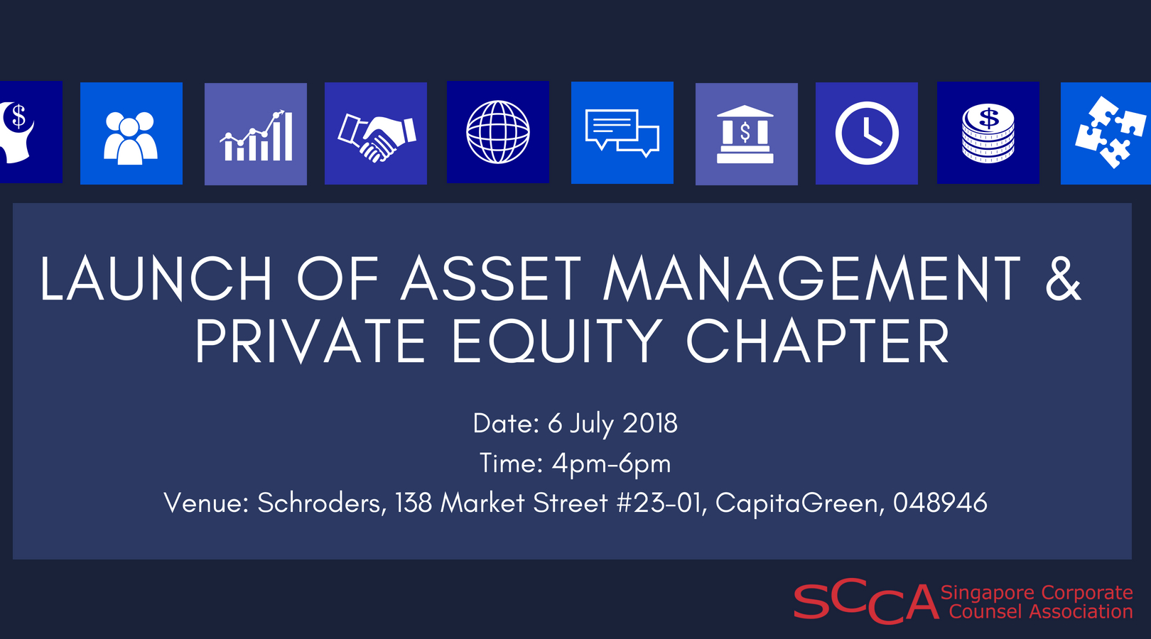 LAUNCH OF ASSET MANAGEMENT & PRIVATE EQUITY CHAPTER