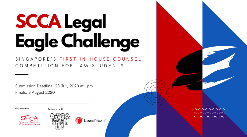 SCCA Legal Eagle  Challenge: Singapore's 1st In-house Counsel Competition for Law Students