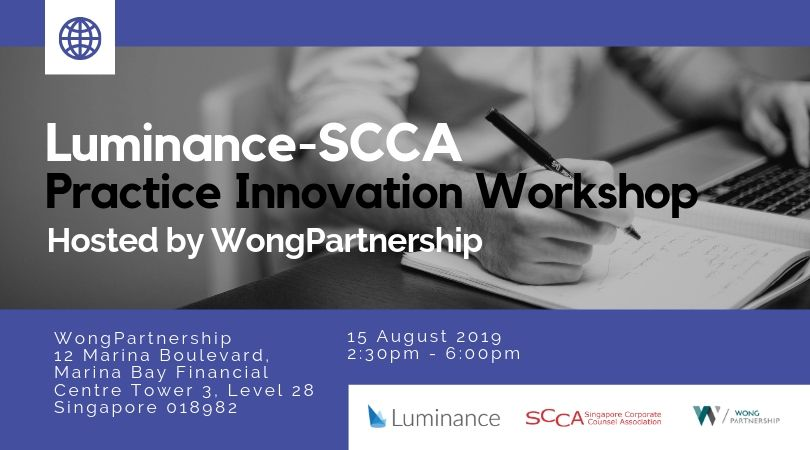 Luminance-SCCA Practice Innovation Workshop