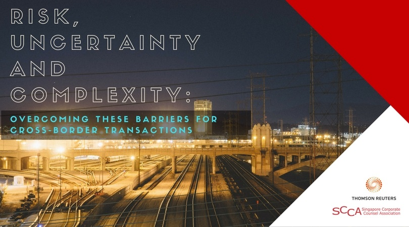 Risk, Uncertainty and Complexity: Overcoming these barriers for Cross-Border Transactions