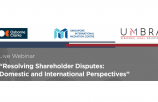 Resolving International Disputes: Domestic and International Perspectives