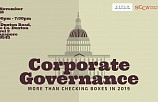 CORPORATE GOVERNANCE: MORE THAN CHECKING BOXES IN 2019