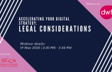 WEBINAR: Accelerating your Digital Strategy: Legal Considerations
