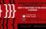 BUSINESS CONTINUITY IN THE FINANCIAL SECTOR: WHY IT MATTERS TO IN-HOUSE COUNSEL