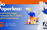 Go paperless: Streamline legal processes for a 100% digital experience