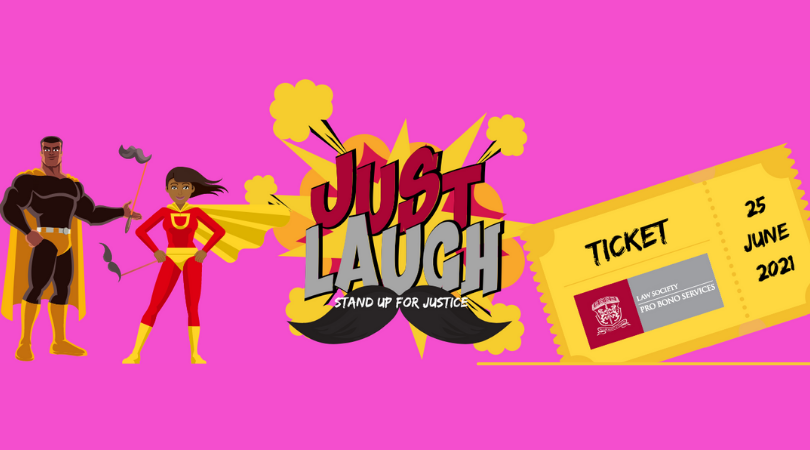 Just Laugh: Stand Up for Justice