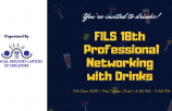 FILS 18th Professional Networking with Drinks Event