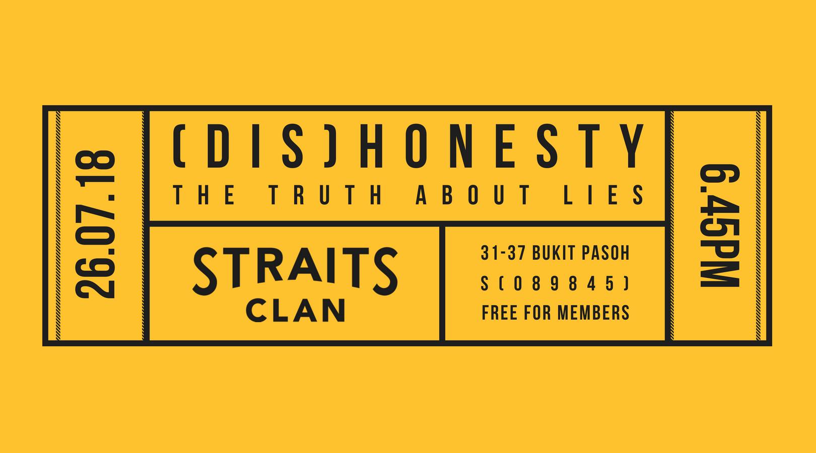 SCCA PREMIERES: (DIS)HONESTY: THE TRUTH ABOUT LIES