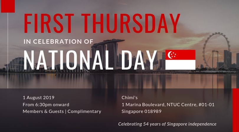 First Thursday in Celebration of National Day