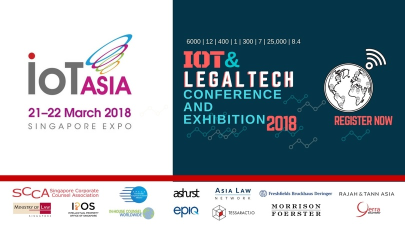 IOT ASIA & LEGAL-TECH CONFERENCE 2018
