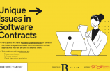 WEBINAR: Unique Issues in Software Contracts