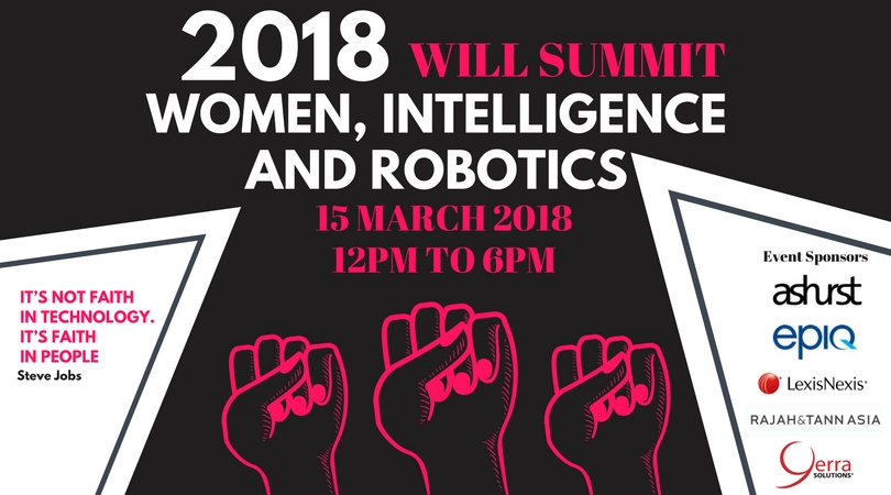 WILL Summit 2018: Women, Intelligence & Robotics